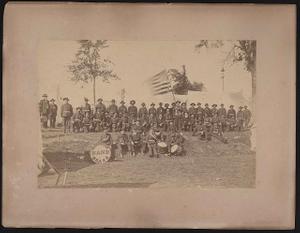 [Gloucester Brass Band at the G.A.R. Nineteenth National Encampment, Portland, Maine, June 24-25, 1885]