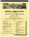 Kings Mountain YMCA-YWCA Student Conference, June 6-13, 1935