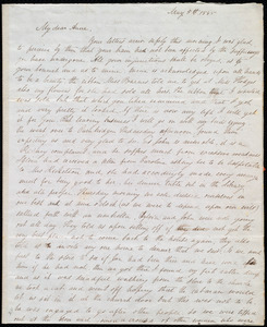 Letter from Maria Weston Chapman, [Boston, Mass.], to Anne Warren Weston, May 5th, 1845 [or 1846]