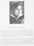 Miss Jennie E. Lawrence