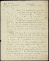 Andrew Jackson letter to D. B. Mitchell, 1818