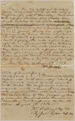 [Bill of Sale for Slaves] 1850 Aug. 1, Shelby County, Tennessee : a machine readable transcription of an image