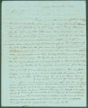 Letter from James Martin in Mobile, Alabama, to James Dellet in Washington, D.C.