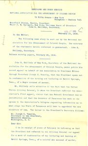 Newspaper and Press Service, February 16, 1918