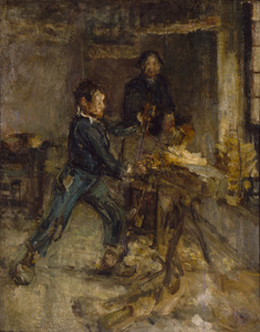 Study for the Young Sabot Maker