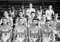 1961-62 freshman basketball team