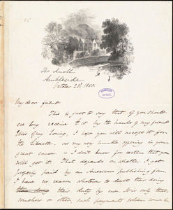 Letter from Harriet Martineau, Ambleside, [England], to William Lloyd Garrison, October 23d 1850