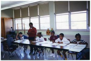 Gates Elementary Students in Class San Antonio Chapter of Links Records