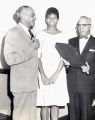 Judge Raymond Pace Alexander, Wilma Rudolph, and Judge Theodore Spaulding