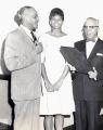 Judge Raymond Pace Alexander, Wilma Rudolph, and Judge Theodore Spaulding