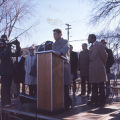 Governor Wendell Anderson at Groundbreaking Ceremony