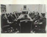 Meeting in the White House Cabinet Room