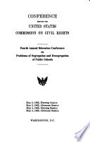 Conference before the United States Commission on Civil Rights