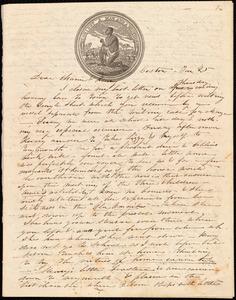 Letter from Caroline Weston, Boston, [Mass.], to Maria Weston Chapman and Henry Grafton Chapman, Jan. 25, [1839?]