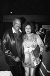 Paul Winfield and an unidentified woman posing together, Los Angeles, 1987