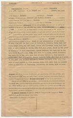 Warranty Deed between Dana A. Dorsey and Seaboard All Florida Railway
