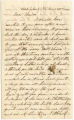 Letter from Washington Powell in West Liberty, Virginia, to Thomas Clements.