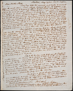 Letter from Lewis Tappan, New York, to Amos Augustus Phelps, 1840 May 19