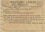 W.L. Godwin to Chancellor J.D. Williams, 21 September 1962