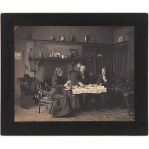 Elbert Hubbard, James Pond and Frances Benjamin Johnston
