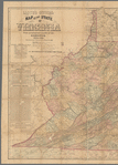 Lloyd's official map of the state of Virginia
