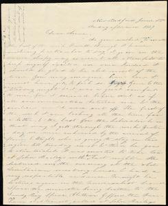 Letter from Deborah Weston, New Bedford, [Mass.], to Anne Warren Weston, June 25th, Friday afternoon, 1839