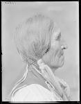 Chief Poor Elk, side. Oklahoma. U.S. Indian school 1904