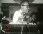 WALB newsfilm clip of Dr. Martin Luther King, Jr. encouraging an audience in their pursuit of civil rights in Mt. Zion Baptist Church in Albany, Georgia, 1962 July