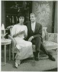 Diahann Carroll (Barbara Woodruff) and Mirchell Gregg (Louis de Pourtal) in No Strings
