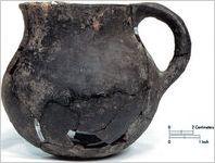 Colonoware pitcher