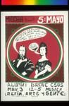 Mecha Presenta 5 De Mayo, Announcement Poster for