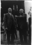 [W.E.B. Du Bois, full-length portrait, following Spingarn awards ceremony, Atlanta, Georgia]