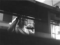 Female Student Working in Lab, Date Unknown