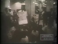 BLACKS ARE REMOVED FROM BANK BY POLICE