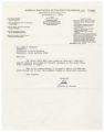 Letter to Chancellor Ferguson from Jordan Kurland about the 1967 Black Power Forum