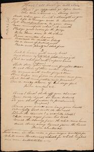 Hymns, black - South Carolina to Amos Augustus Phelps