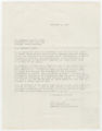 Letter to Governor Moore
