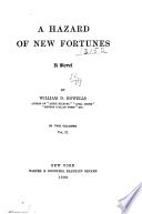 A hazard of new fortunes : a novel