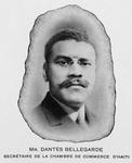 Mr. Dantes Bellegarde Secrétaire de la chambre de commerce d'Haiti