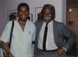 Eugene Redmond and Gordon Parks