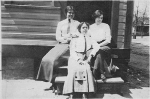 Ada Crogman and Sisters