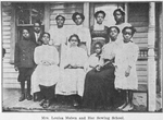Mrs. Louisa Maben and her Sewing School
