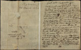 Big Warrior (Creek Agency) letter to D.B. Mitchell, 1820