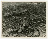 Aerial Campus View, circa 1920