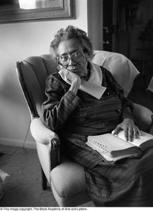 Mable Chandler posing for portrait Dallas/Fort Worth Black Living Legends Dallas/Fort Worth Black Living Legends, 1992