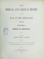 The medical and surgical history of the War of the Rebellion, (1861-65), 3