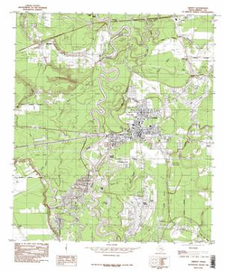 Liberty Quadrangle Digital Raster Graphic Topographic Maps: 7.5 Minute Series (Topographic)