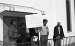 Man Demonstrating, Los Angeles, 1991