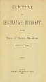 Executive and legislative documents of the State of North Carolina [1885]