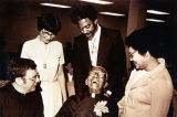 Honoring Father DuKette at the Dedication of the DuKette Intercultural Center, Flint, Michigan, 1978
